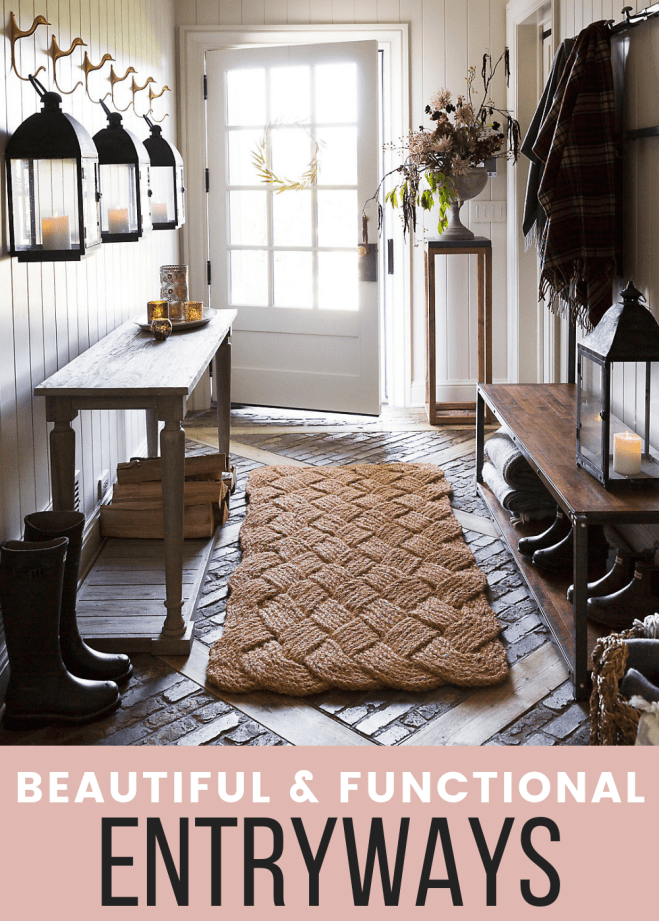 12 beautiful and functional entryways to inspire you to tackle your own!