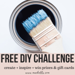 FREE Monthly DIY Challenge