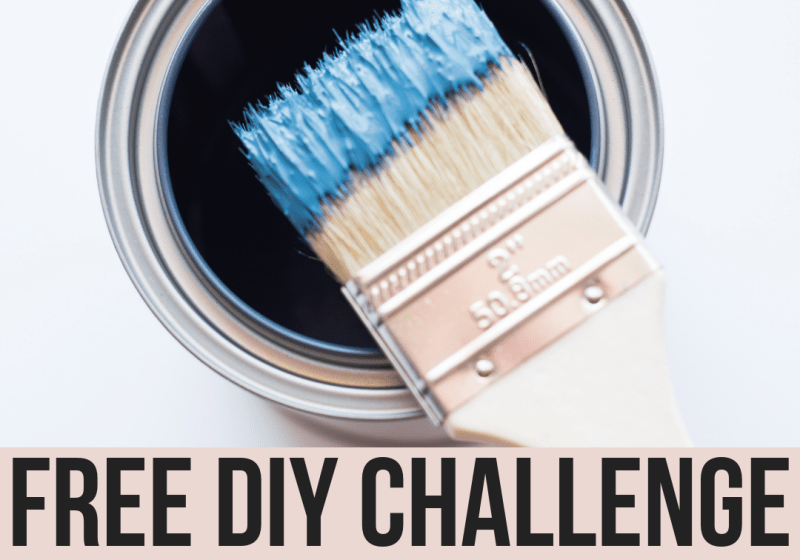 Join our FREE DIY Challenge for fun monthly home improvement projects and win prizes! Each month we will introduce a new category and tons of inspiration and tutorials to make your home beautiful and functional! Submit your DIY project for a chance to win gift cards and prizes!