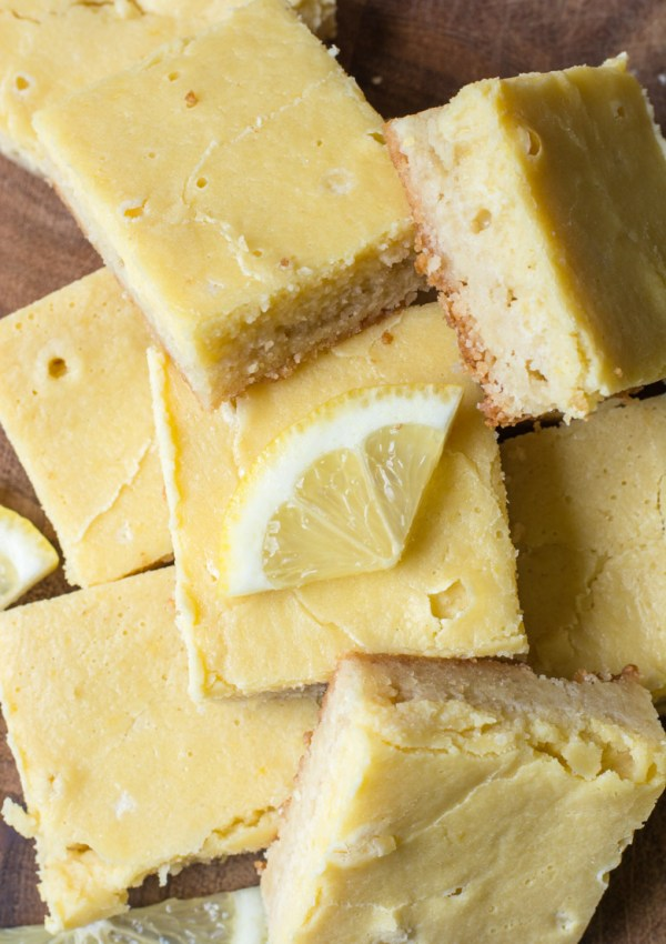 The Best Keto Lemon Bars