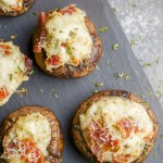 Crab and Bacon Stuffed Mushrooms (Low Carb, Keto)