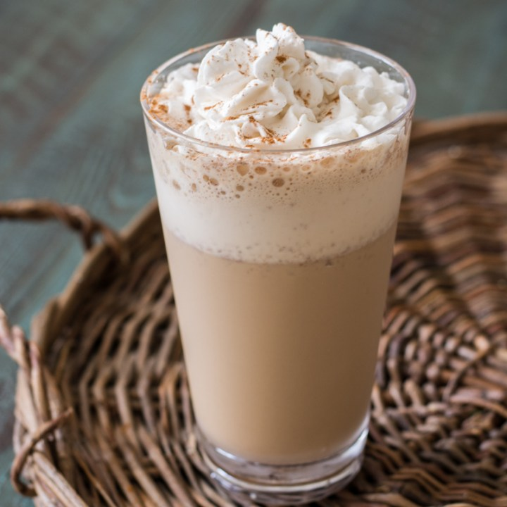 A low carb, Keto Coffee Frappuccino just like Starbucks with less than 2 carbs!  #keto A great starbucks copycat! #keto