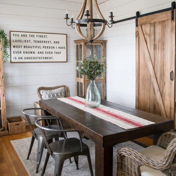 DIY Farmhouse Dining Room!