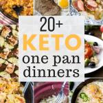 20+ One Pan Keto Recipes