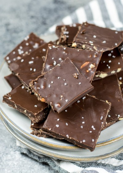 This easy Keto Peppermint bark is the perfect low carb festive treat!