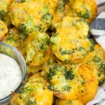 Keto Broccoli Cheddar Bites (less than one net carb each)