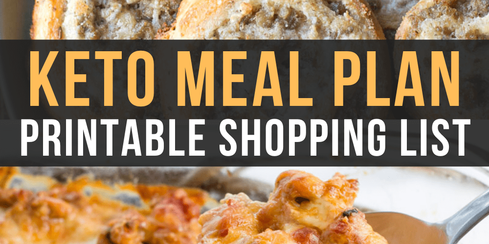 Ready to try keto? I've made it easy with this Easy Keto Meal Plan which includes 5 EASY low carb dinners plus a keto dessert recipe complete with net carb counts and a printable shopping list.