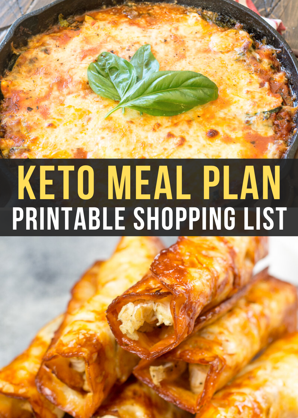 Curious about keto but not sure where to start? I can help! This Easy Keto Meal Plan includes 5 EASY low carb dinners plus a keto dessert to satisfy your sweet tooth.This guide is complete with net carb counts and a printable shopping list.