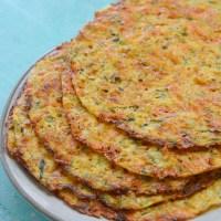 Zucchini Tortillas (low carb + keto)