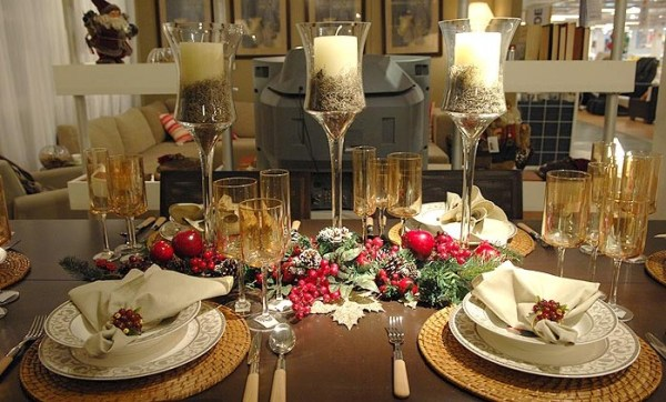 mesa decorada para natal dicas 2