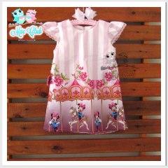 Vestido Minnie Mouse Rosa