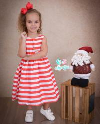 Vestido Natalino Infantil (COD 27.10.19.04)