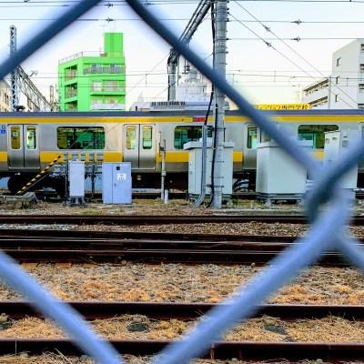Yellow train nakano