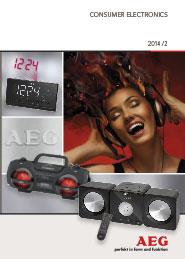 Catálogo Electrónica de Consumo AEG 2014-2