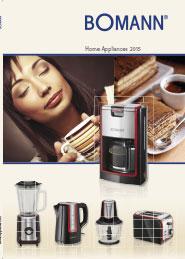 Catálogo Pequeño Electrodoméstico Bomann 2015