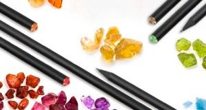 Lápices con cristales de Swarovski