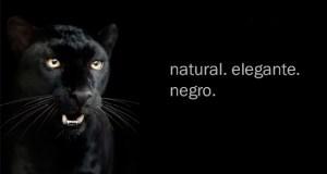 natural. elegante. negro.