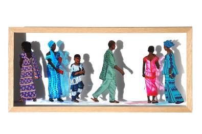 peinture sur verre 210x480 2014