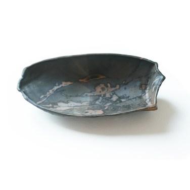 coquillage gris noir