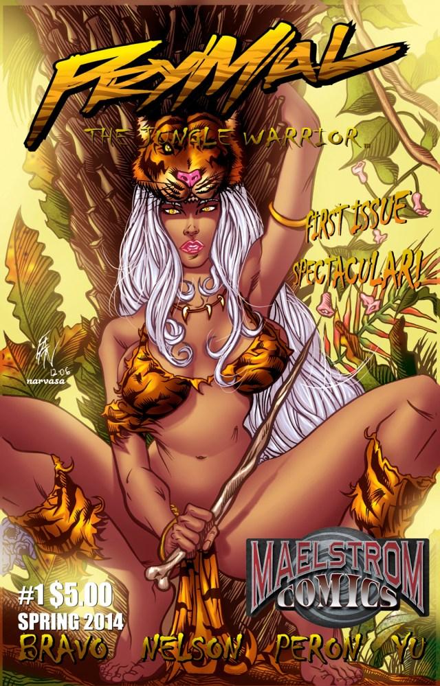 PTJW1 Prymal: The Jungle Warrior #1 (3rd Print)
