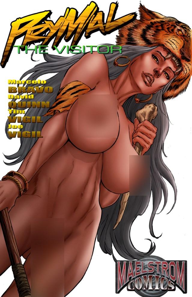 PSNWUC Prymal: The Jungle Warrior Signed Urolagnia Cover Edition(2nd Print)