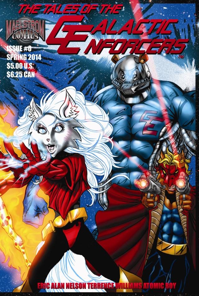 TOTGE1 The Tales of the Galactic Enforcers #1 (3rd Print)