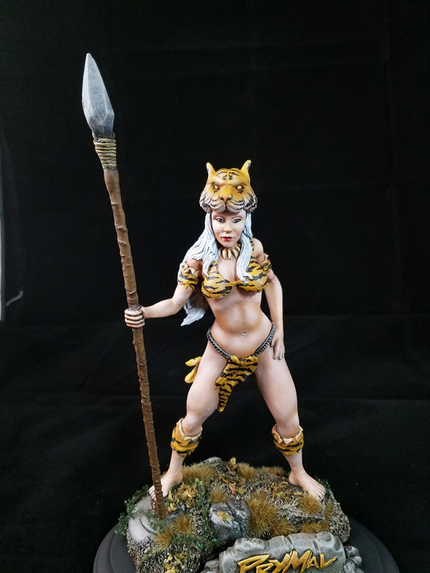 Prymal: The Jungle Warrior Statuette #1