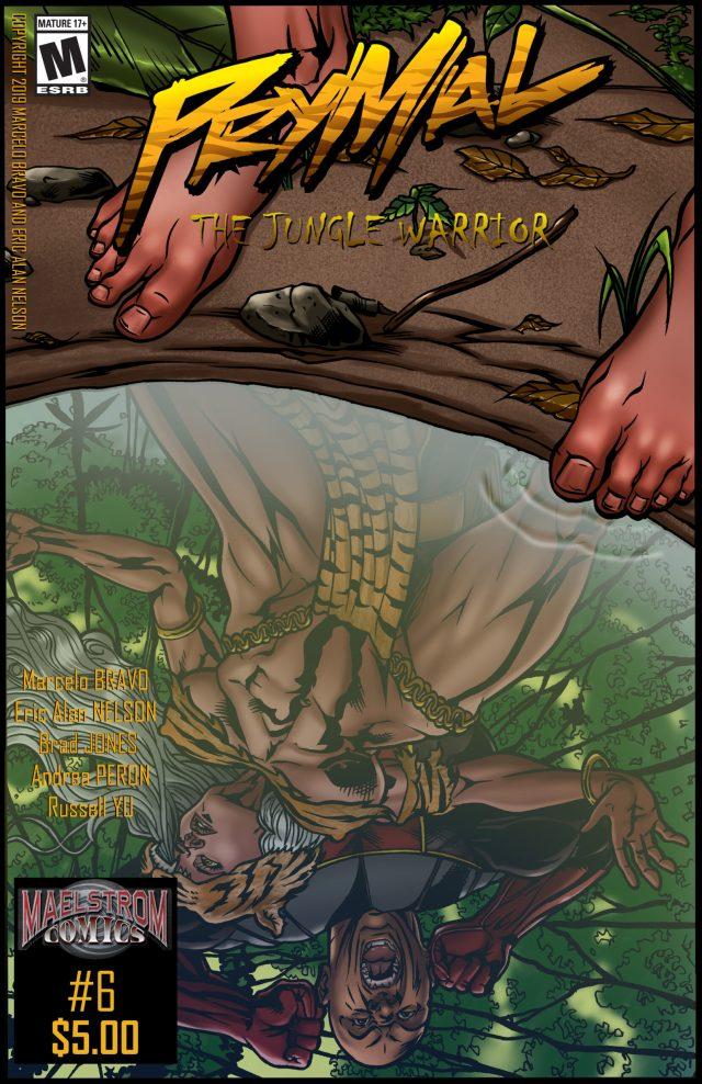 PTJW6 Prymal: The Jungle Warrior #6 (2nd Print)