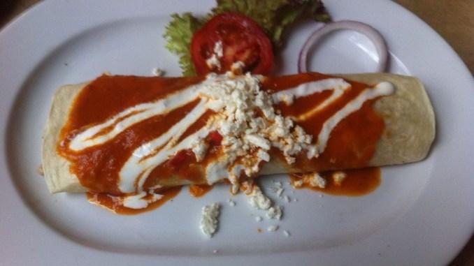 Der Burrito im Pancho - Nom nom nom!