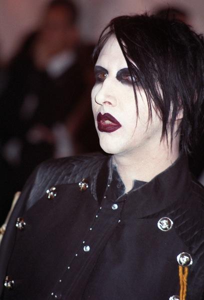 Gothic Frisur Von Marilyn Manson Männerfrisuren