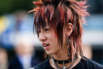 Emo Boy Frisuren – Japanische Männerfrisuren Männerfrisuren