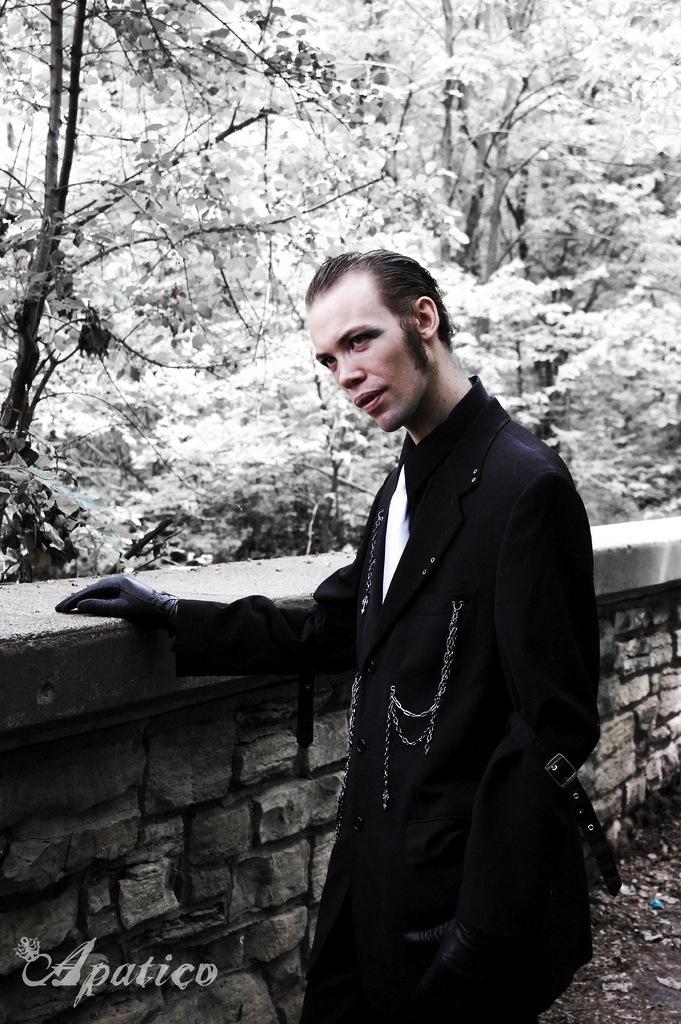Kurze Haarschnitte – Gothic Männerfrisuren