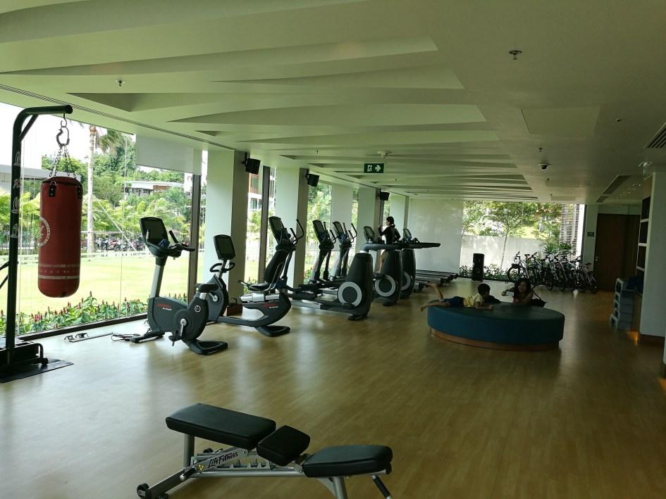 Gymmet i byggnaden