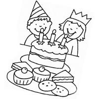 Ausmalbilder, Malvorlagen zum Geburtstag kostenlos zum ...