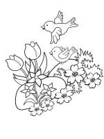 Malvorlage Frühling 37 zum Ausdrucken   Märchen aus aller ...