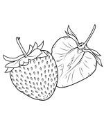 Ausmalbilder, Malvorlagen – Erdbeere kostenlos zum ...
