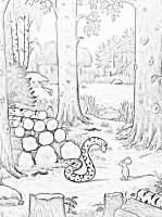 Malvorlage Grüffelo kostenlos   Märchen aus aller Welt ...