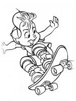 Ausmalbilder, Malvorlagen von Alvin und die Chipmunks ...