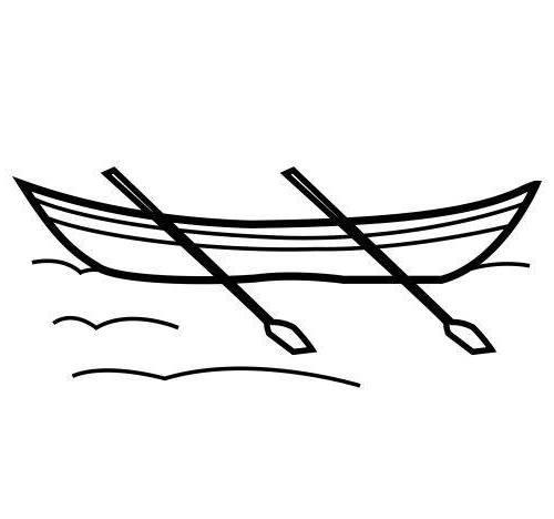 Ausmalbilder Malvorlagen - Boot kostenlos zum Ausdrucken