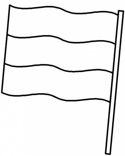 Ausmalbilder Malvorlagen - Flaggen kostenlos zum