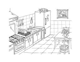 Kuche Bilder Zum Ausmalen   Küchen Studio