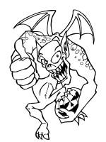 Ausmalbilder, Malvorlagen – Monster kostenlos zum ...