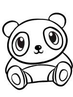 Ausmalbilder, Malvorlagen – Panda kostenlos zum Ausdrucken ...