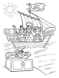 Ausmalbilder Zum Ausdrucken Piraten Piraten Ausmalbilder