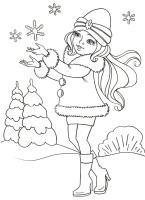 Ausmalbilder, Malvorlagen – Schneeflocken kostenlos zum ...