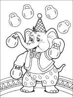 Ausmalbilder, Malvorlagen von Zirkus kostenlos zum ...