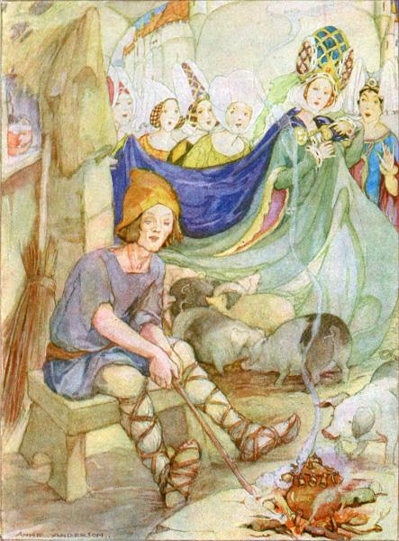 Der Schweinehirt Mrchenatlas