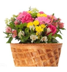 gelato fiori