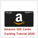 Amazon Gift Cards Carding method 2020