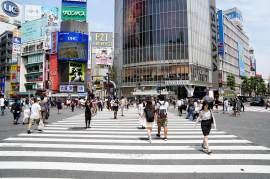 le passage piéton de Shibuya